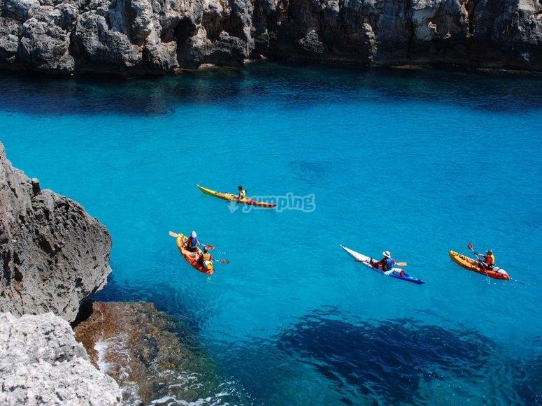 las aguas puras del norte de Mallorca