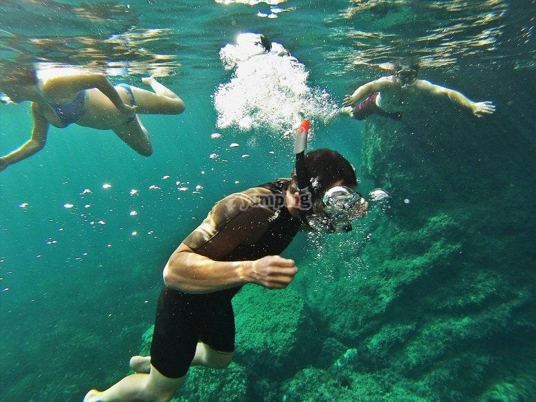 Snorkeling en Valldemosa
