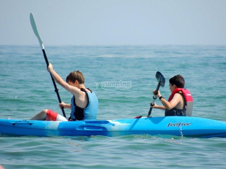 kayak para principiantes