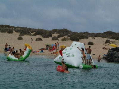 Catamaran day La Graciosa Island Bambini