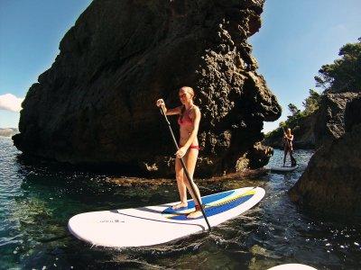 Curso paddle Surf en Alcudia principiantes 2 horas