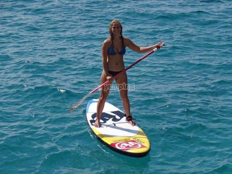 桨冲浪马洛卡