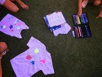 Dibujando en camisetas