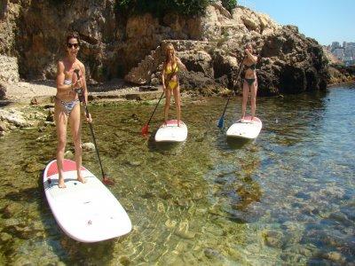 Curso de iniciación al Paddle Surf en Pollensa
