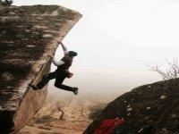 一个伟大的登山者