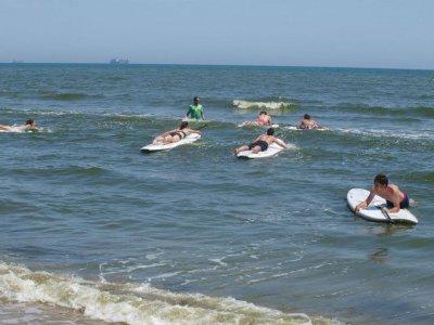 Curso iniciación al paddle surf en Valencia 2h