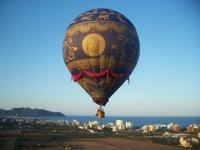Montgolfiere在马略卡岛上