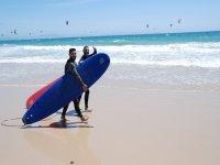 Lezione di windsurf privata a Tarifa 2 ore