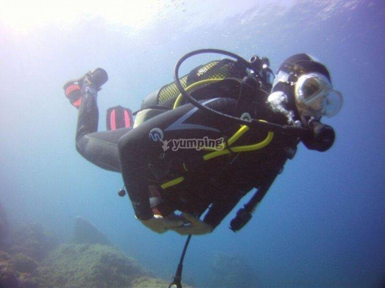 潜水员下降设备
