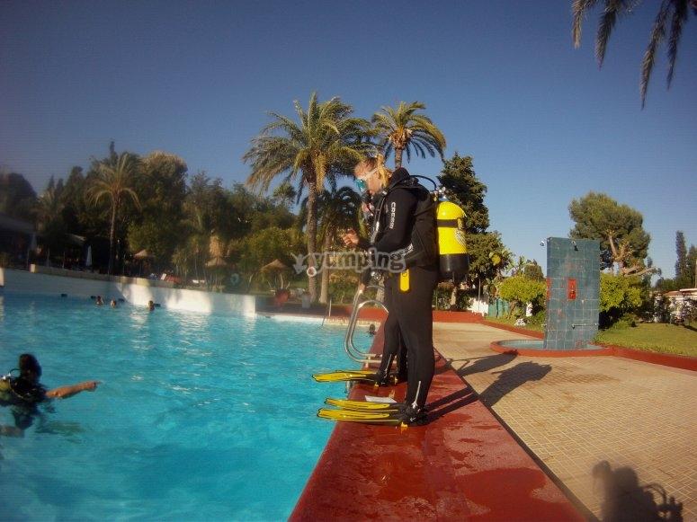 Module in the pool