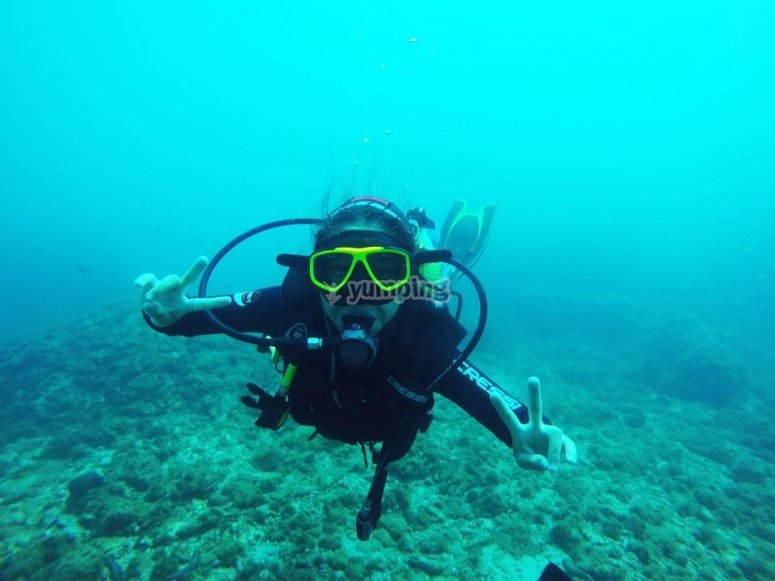 Come and try the diving