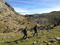senderismo por el monte