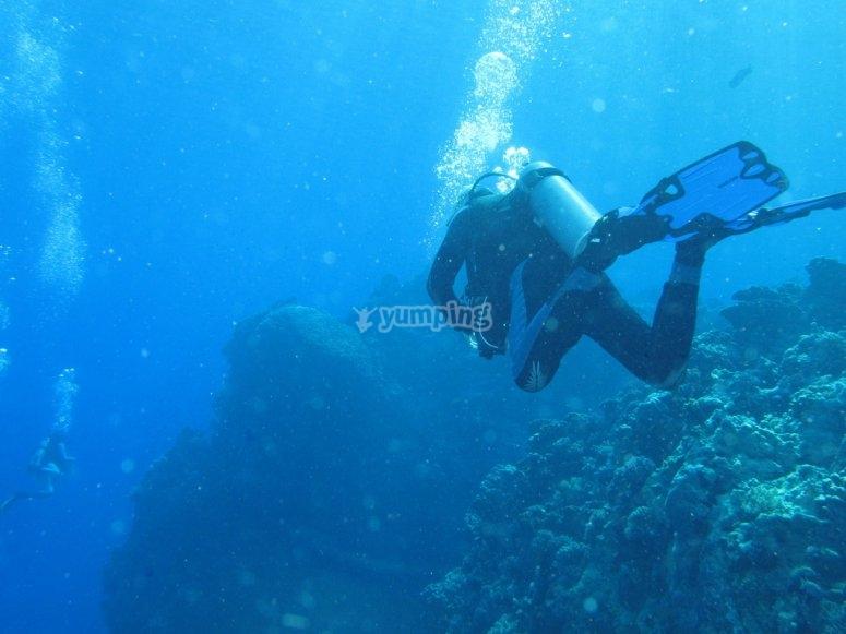 Submarinismo en Almeria