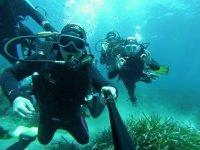 在阿尔梅里亚潜水