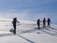 雪地里的Racquetistas