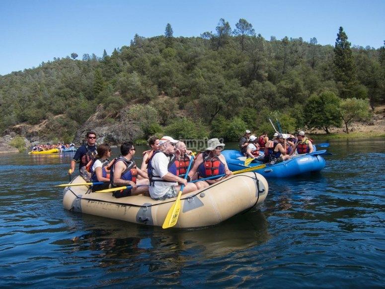 Vieni a praticare il rafting
