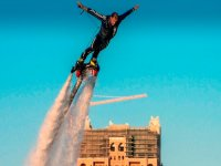 Flyboard a Barcellona