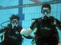 Disfrutando de las primeras inmersiones