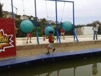 Takeshi's castle games in Sitges 13 to 16