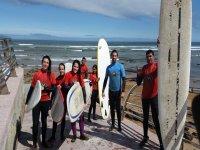 在La Espasa海滩冲浪2天