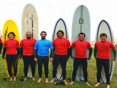 Corso di surf in Caravia 2 ore