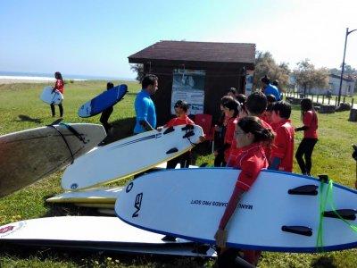 Corso di surf in Caravia 3 giorni
