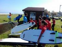 在Caravia冲浪课程3天