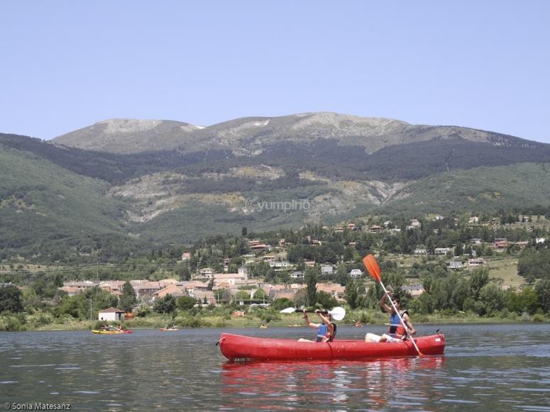 Navigating on a kayak
