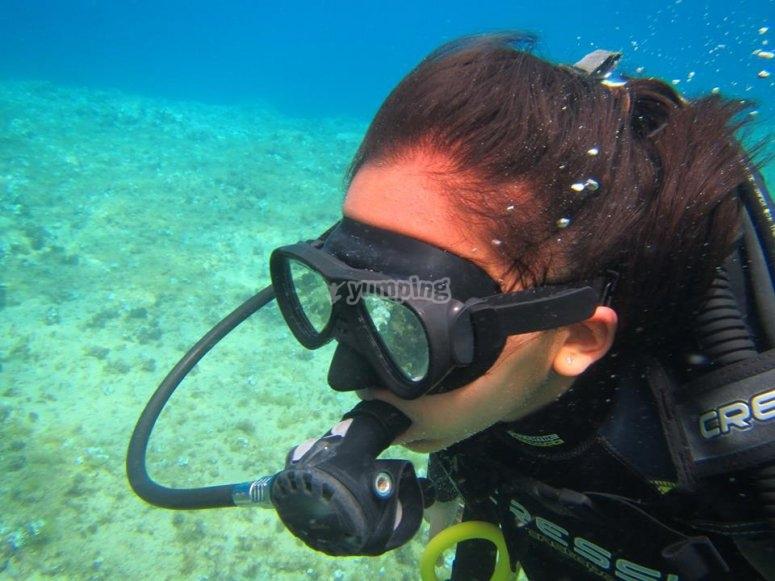 En el fondo marino