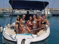 Bachelorette party on the high seas