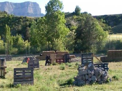 Partida de Paintball de 1 hora en Huesca