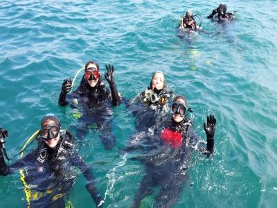 Diving baptism, Colindres, 3 hours