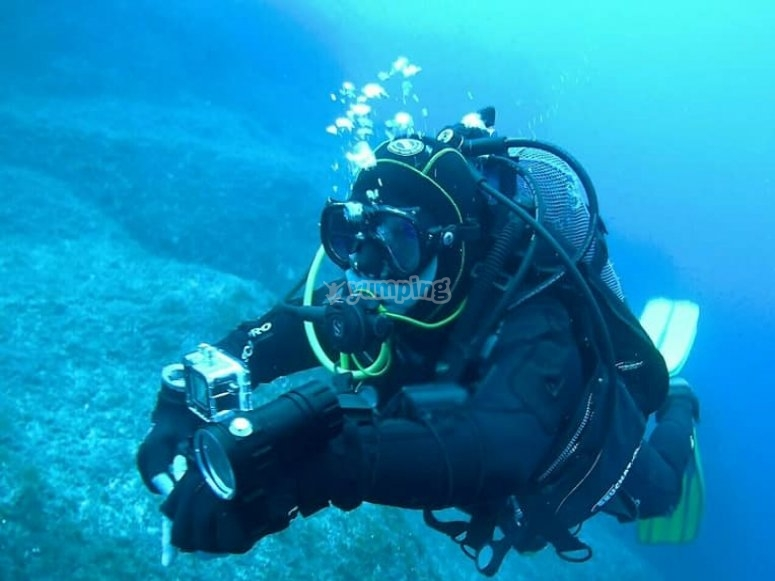 Diving in Colindres