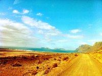 El camino a Famara
