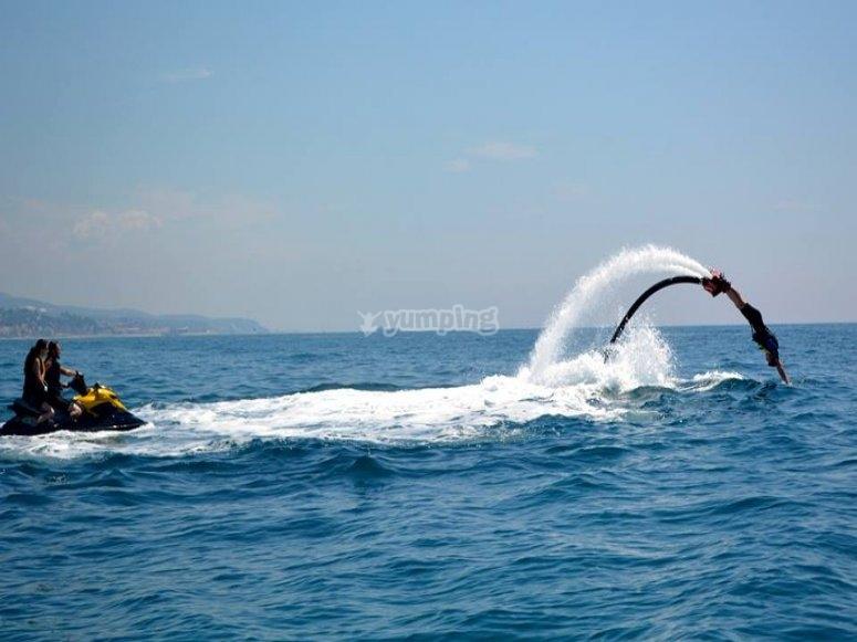 像海豚一样移动