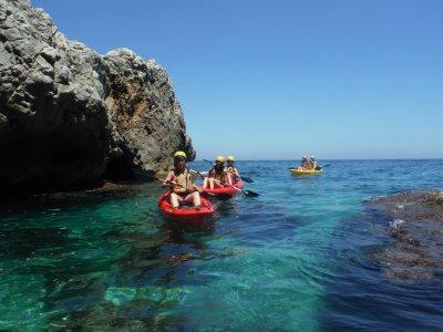 Excursión en piragua por la Costa de Denia 2 horas