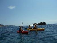Ruta Piragua en Cuevas de Denia y snorkeling 2 h