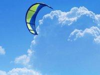 Kite en el cielo canario