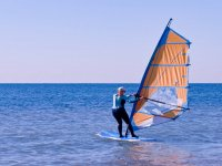 Windsurfing on the Alicante coast