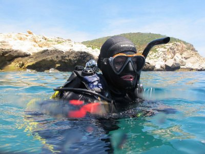 5 diving sessions in Benidorm