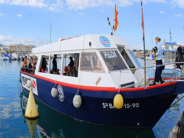 La nostra barca Estrop II