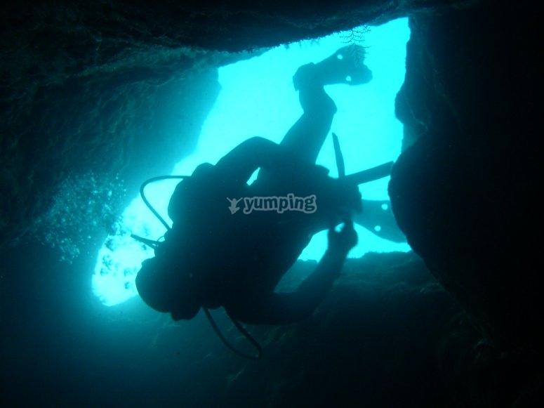 Explorando el fondo marino de L'Escala