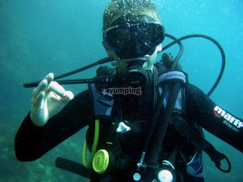 Sessione di immersioni a L'Escala