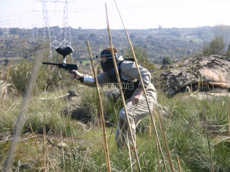 Paintball en los Arribes del Duero