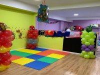 Salón decorado para cumple infantil