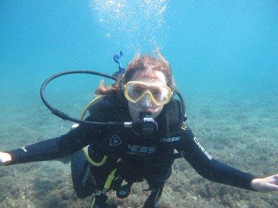 在Costa del Sol潜水洗礼3个小时