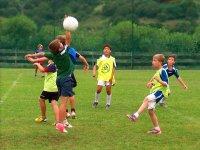 Campo di calcio a Rada una settimana a luglio