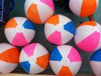 Pelotas inflables de colores