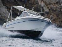 Romántico paseo en barco en L' Estartit, atardecer