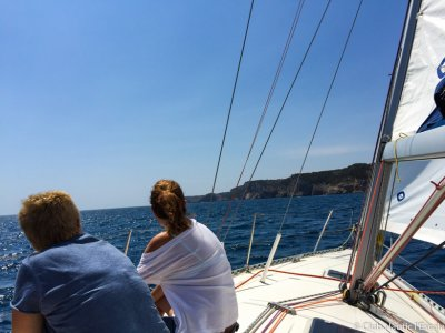 Romantic sailing ride in L